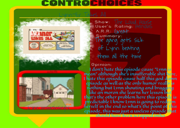 ControChoices- Lynner Takes All by Hipsterchipster