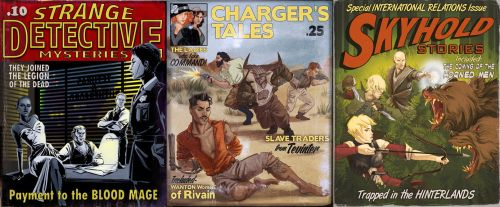 Dragon Age Pulp by AgarthanGuide