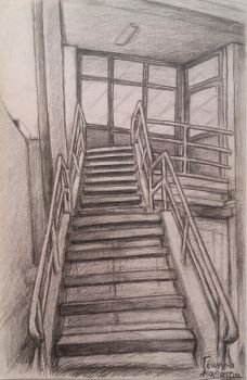 Stairs by UmbrellaFighter