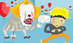 IT Pennywise and Naruto dating???? by Sikojensika