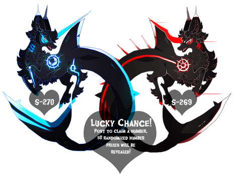 { Lucky Chance } Free prizes ! Over! by Zoomutt