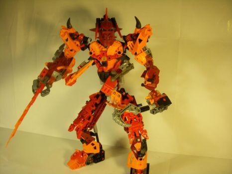 Matrix: The Four Tongued Flame V.2(My Self Moc) by bnvrkd