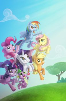 My Little Pony - Charge! by BillWalko