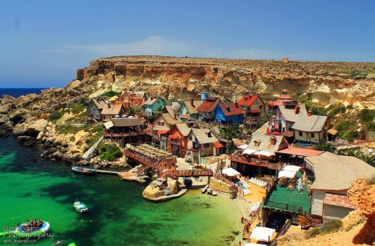 The Amazing Popeye Village by Clerdy