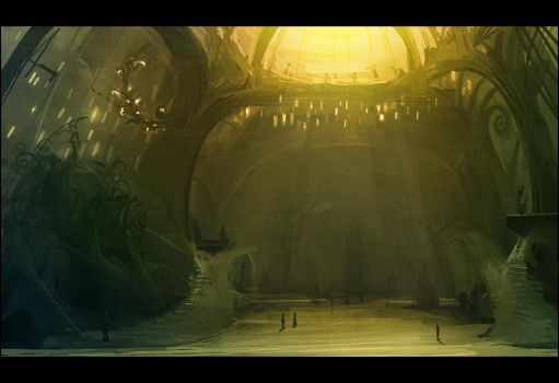 The Cathedral of Mirandopolis by gizmodus