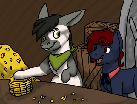 Counting Coins by millemusen