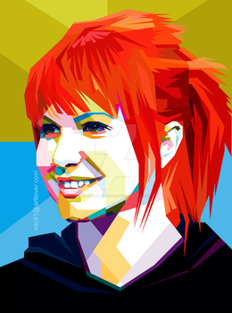 Hayley Williams in wpap by MuhammadLutfi