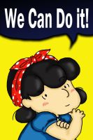 We Can Do It, Charlie Brown by Thatu