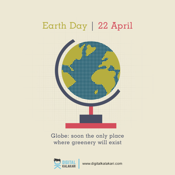 Earth Day | Poster Design by digitalkalakari
