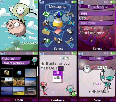 GIR theme for W910 by Squet