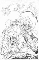 Lullaby cover pencils by RandyGreen