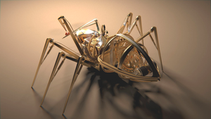 Steampunk Spider by Reaperrr1