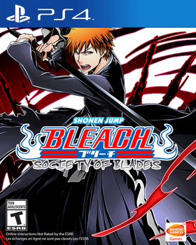 Bleach: Society of Blades PlayStation 4 Art Cover by Ichiron47