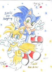 sonic and tails by CherrySweetz