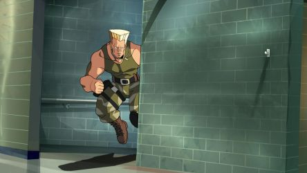 Guile: Sonic Cross animation by MightyOtaking