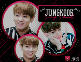 PNG PACK: JungKook (BTS) #9 by Hallyumi