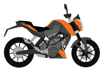 KTM Duke illustration by niC00L
