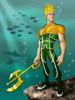 Aquaman Redesign by payno0