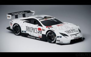 SuperGT GT500 LF-A 2007 Concept 4 by The-IC