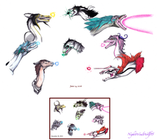 Bleach Dragons: Ceros (Redrawn) by nightwindwolf95