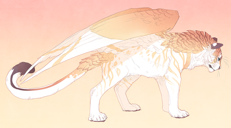 Sunrise Tiger - Sold by QuillCoil