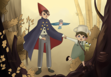 Over the Garden Wall by mhiceland