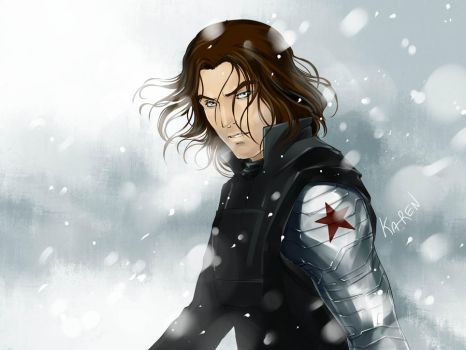 Winter Soldier by Ka-ren
