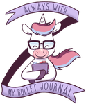 Always with my bullet journal by ThePandamis