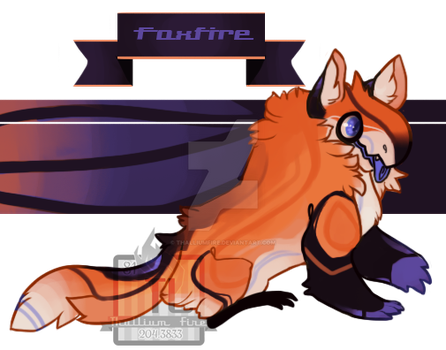 Foxfire (Jolleraptor Monster) by Thalliumfire