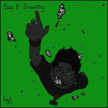 Goretober Day 8 Drowning by Rolycul