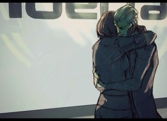 I missed you, Shepard by Nateyou