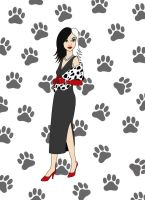 Beautiful Cruella De Vil by mederu69