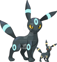 197 - Umbreon (Shiny) by Tails19950