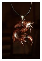 dragon pendant by bartheks