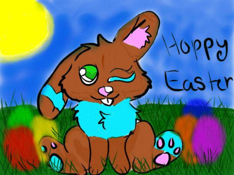 HOPPY EASTER EVERYONE!!!! by Puppiesareawesome001