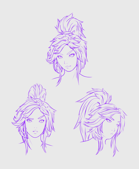 2-26-16 Li-Ming Doodles by Patchy9
