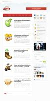 Spring Theme Wordpress Blog Design by emrah-demirag