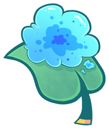 Gummy Goo Leaf (Blue) by ChimereonMasterlist
