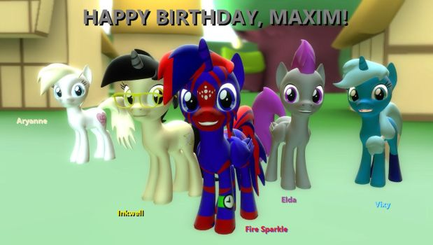 Happy Birthday Fire Sparkle! (Again) by MasterChica1987