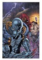 Lord Havok issue 6 cover by LiamSharp