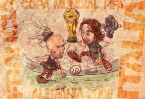Final Mundial: Francia-Italia by mistermoster