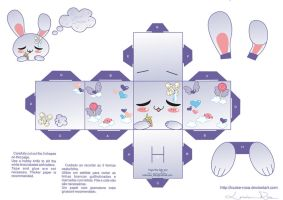 Papercraft Sweet Dreams 2 by Louise-Rosa