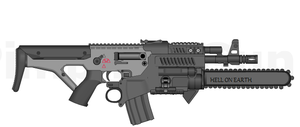 ACF's RIP-74 Combat Rifle by ThantosEdge