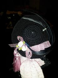 Close up of hat by Viktoria-Lyn
