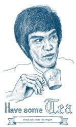 Bruce Tea by tomify