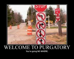 Purgatory Demotivator by Kryt-Hunter