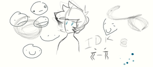 Ugh I can't even drawing tablet by SpazzyMagee11