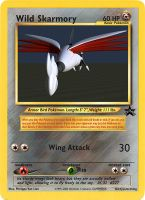 Wild Skarmory by pokemonaaah