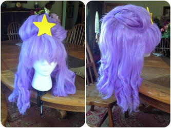 Lumpy Space Princess Wig Commission by ElliotCosplay