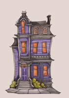 Spooky House by TallyTodd